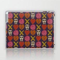 cross stitch cross love Laptop & iPad Skin