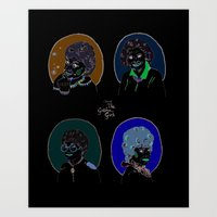 I Heart The Golden Girls… Art Print