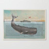La Baleine (the Whale) Canvas Print