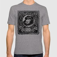 República das Bananas Mens Fitted Tee Athletic Grey SMALL