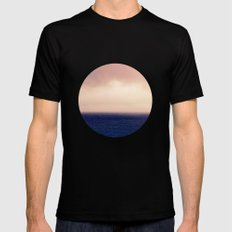 Weather The Storm Black Mens Fitted Tee SMALL