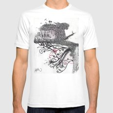 Imaginatĭo Mens Fitted Tee White SMALL
