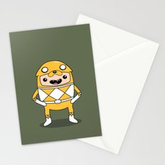 Morphin' Time Adventure Time Jake Suit Stationery Cards