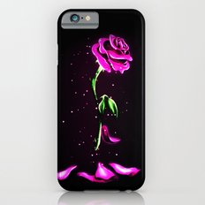 Beauty and The Beast Rose Flower Slim Case iPhone 6s