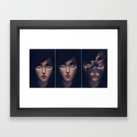 Under Her Skin Framed Art Print
