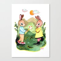 Happy Birthday Little Ra… Canvas Print