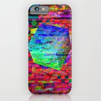 iPhone & iPod Case featuring Glitch Cubed no.2 by athomahawk
