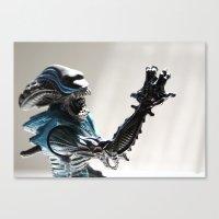 Mr. Alien, Alien Movie Toy Canvas Print