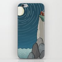 House On A Cliff iPhone & iPod Skin
