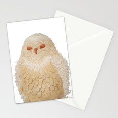 Owl Collage #4 Stationery Cards