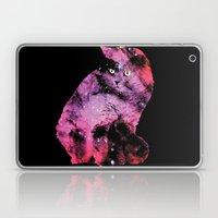 Celestial Cat - The British Shorthair & The Pelican Nebula Laptop & iPad Skin