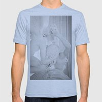 The Kiss Mens Fitted Tee Athletic Blue SMALL