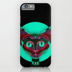 Black CAT- Black iPhone 6s Slim Case