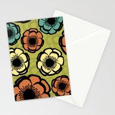 Bold Retro Flower Stationery Cards