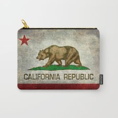 California Republic state flag Carry-All Pouch