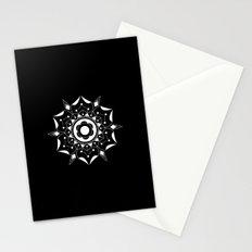 Geometric Flower Stationery Cards