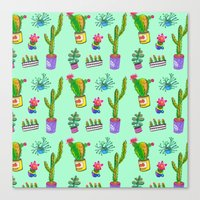 Cactus Day Canvas Print