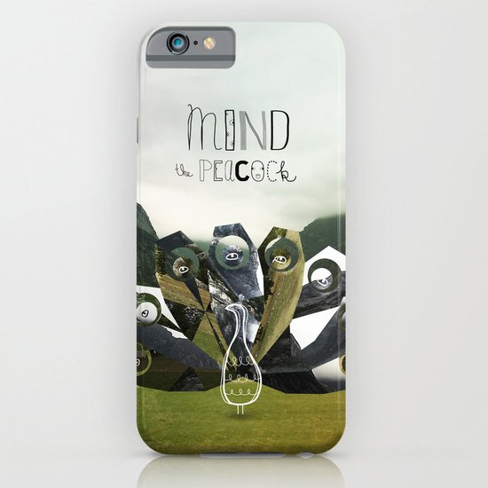 Mind the Peacock! iPhone & iPod Case