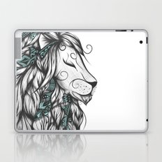 Poetic Lion Turquoise Laptop & iPad Skin