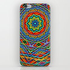 The small wool mandala iPhone & iPod Skin