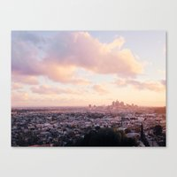 View of Downtown Los Angeles Canvas Print