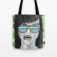 Tropical Zombie  Tote Bag