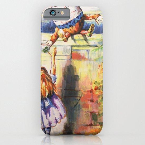 Alice Meeting Humpty Dealer iPhone & iPod Case
