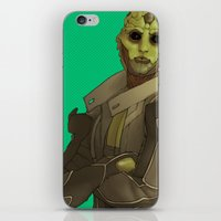 Not easy being green iPhone & iPod Skin