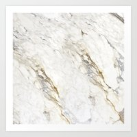 New Marble Art Print