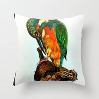 Drawing By Reeve Wong Throw Pillow