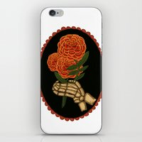 Marigolds For The Dead iPhone & iPod Skin