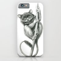 iPhone & iPod Case featuring Philippine Tarsier G2012-047 by S-Schukina