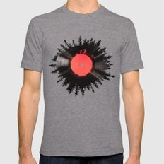 The vinyl of my life Mens Fitted Tee Tri-Grey SMALL