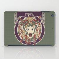foolish medusa (green) iPad Case