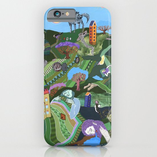 Sleeping Giants iPhone & iPod Case
