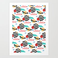 CANDY PLANET Art Print