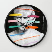 Composition 525 Wall Clock