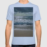 Just Me And The Sea Mens Fitted Tee Athletic Blue SMALL