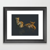 Hoenn Monster Framed Art Print