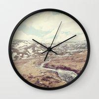 Norwegian Landscape Wall Clock