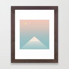 Mountaintop Framed Art Print