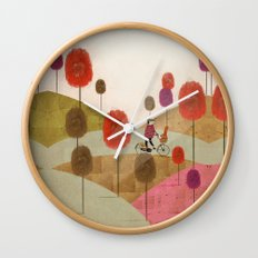 poppy hill Wall Clock