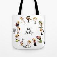It's Hiddles O'Clock Tote Bag