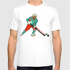 Knuckle-Puck SMALL White Mens Fitted Tee
