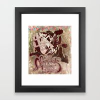 cowboy riddim Framed Art Print