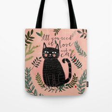 ALL YOU NEED IS LOVE AND… Tote Bag