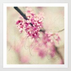 when love blooms Art Print