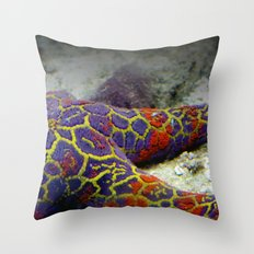 Australian Starfish Throw Pillow