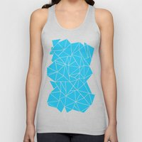 Ab Outline Electric Unisex Tank Top