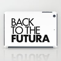 Back To The Futura iPad Case